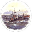 Fishing Boats Single (90mm)