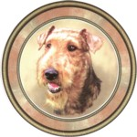 Airedale Terrier (R) Single (150mm)