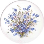 Blue Bouquet Single (150mm)