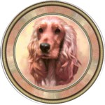 Cocker Spaniel Red (R) Single (150mm)