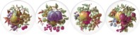 Fruit & Berries Set of 4(150mm)