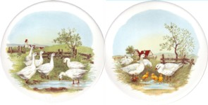 Geese Set of 2 (90mm)