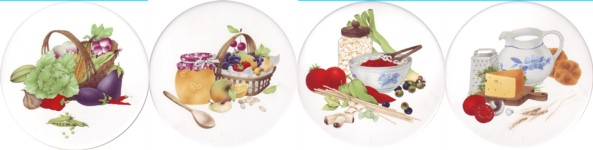 Kitchen Delight Set of 4 (90mm)