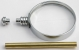 [MMG1CH] Magnifying Glass Chrome 2 1/2""