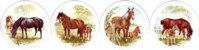 Mare & Foal Set of 4 (90mm)
