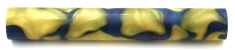 [PBAR19BYS] Blue With Yellow Swirl 19mm Dia. x 130mm Long
