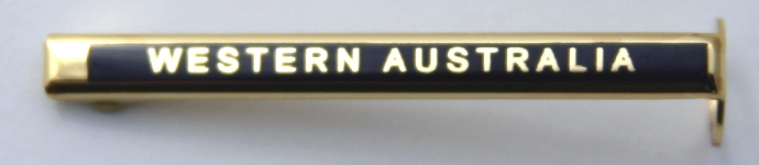 [PENCLWA] Pen Clip Engraved WESTERN AUSTRALIA
