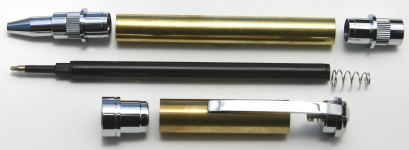 [PENGRADC] Graduate Rollerball Pen Kit Chrome