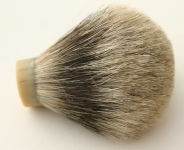 [PRBK] Silver Top Badger Shaving Brush