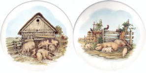Pigs Set of 2 (150mm)