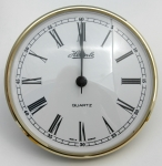[QC7HRW103] Hermle Insert Clock 103mm White Face Roman Numerals
