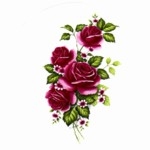 Red Roses 1 Single (90mm)