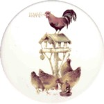 Rooster & Hen House Single (90mm)