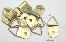 [THXLSH] Triangle Hanger Extra Large Brass