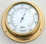 Ships Thermometer Surface Mount 85mm