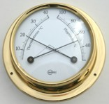 Ships Thermometer Hygrometer Surface Mount 70mm