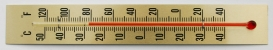 [WT165-25] Stick Thermometer 165x25mm