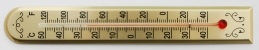 [WT175-26] Stick Thermometer 175x26mm