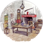 Cottage Kitchen Single (90mm)