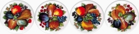 Fruit 2 Set of 4 (150mm)