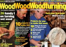 N - Woodturning & Woodcarving Magazine & Binder GMC Publication
