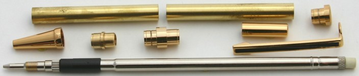 [PENCILKITG] Pencil Kit Gold Clip