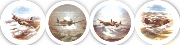 War Planes 2 Set of 4 (90mm)